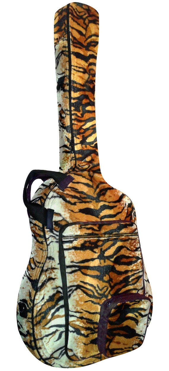 Funda para guitarra eléctrica estampado Tigre por Mangosta.me, €55,00