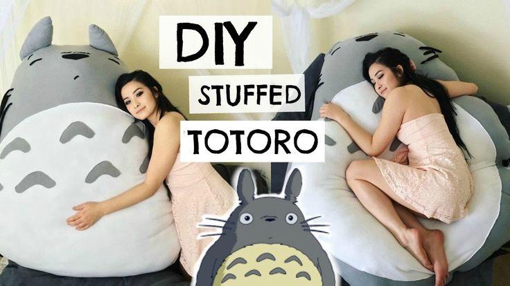 DIY TOTORO PLUSHIE | sew&tell
