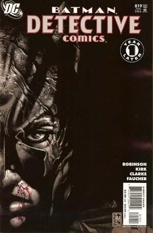 DETECTIVE COMICS #819 -