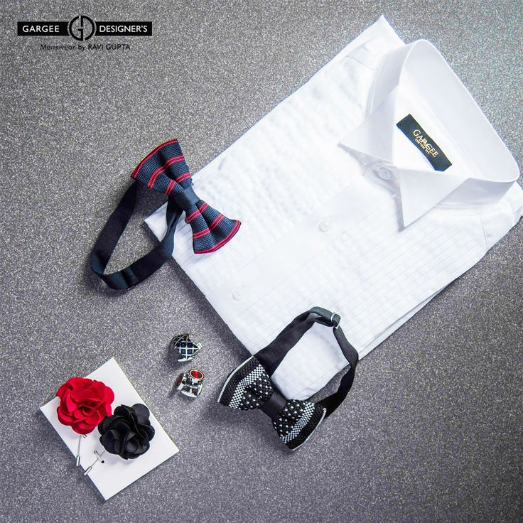 This Wedding Season is the best looking Groomsman... Nothing can make look you more handsome than the white shirt with Boutonniere and Bow tie... Choose any one both will go fantastic with the White shirt. Choose different Look different #ravigupta #delhi #india #menswear #bowtie #shirt #shopping #neckware #ties #handmade #gentlemanstyle #menstyle #groombook #suit #boutonniere #white #color #groomswear #fashion #dapper #cool