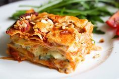 Diese Lasagne überzeugt nicht nur Veganer*innen, sondern auch Fleischesser*innen!