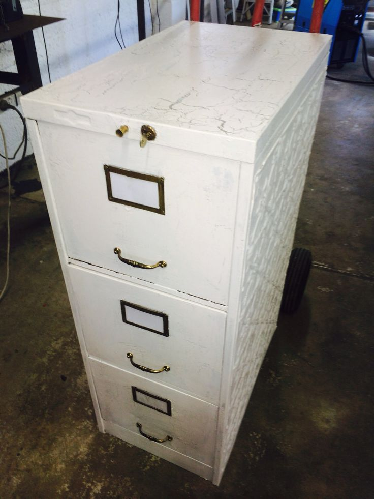 1940's vintage filing cabinet