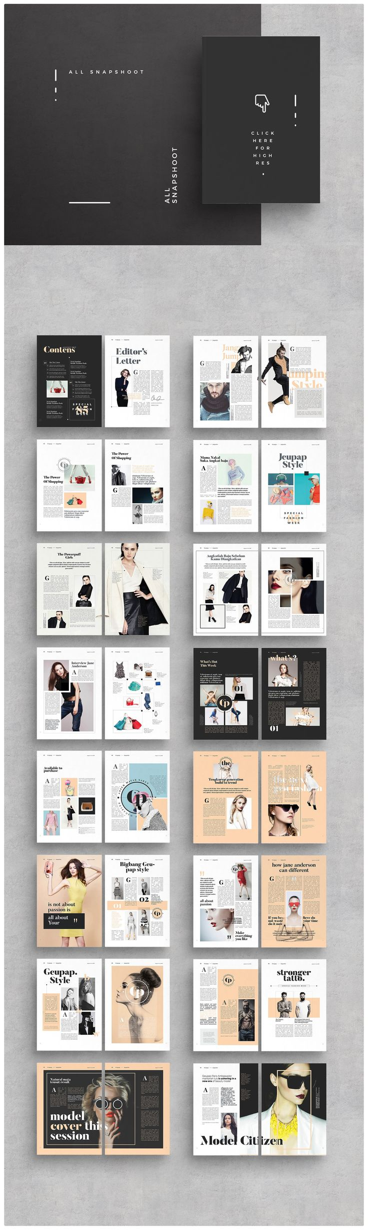 16 best Magazine and eBook Templates images on Pinterest | Indesign ...