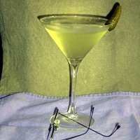 Printer's Pickle Martini for Ben Franklin at McGillin's Olde Ale House http://www.mcgillins.com