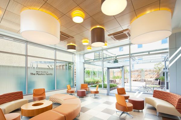 Danbury hospital by perkins eastman top 10 design firms for Architecture firms in sector 17