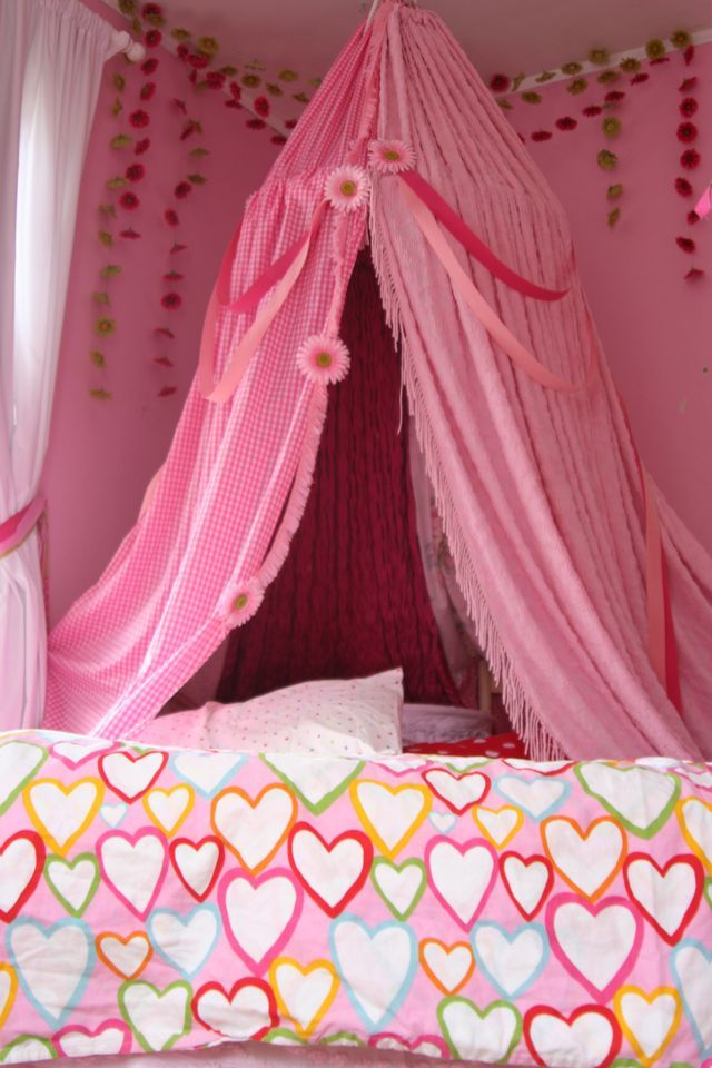 26 Best Images About Diy Princess Bed Canopy On Pinterest