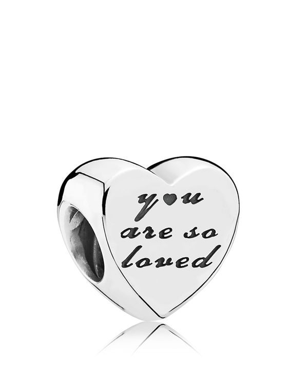 Pandora Charm - Sterling Silver You Are So Loved, Moments Collection