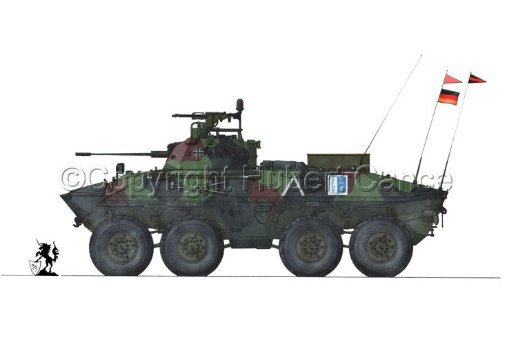 "Spahpanzer 2 ""Лухс"" А2"