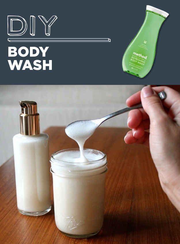 Gel de baño hecho en casa
