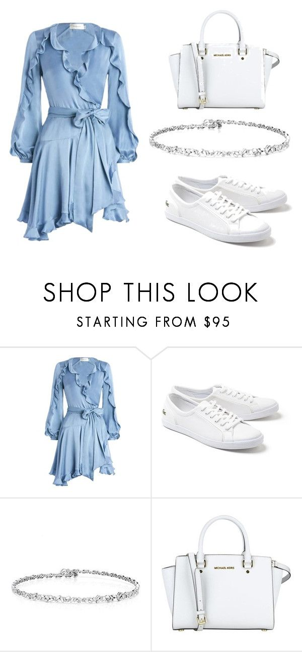 """Untitled #184"" by ipinkiee ❤ liked on Polyvore featuring Zimmermann and Lacoste"