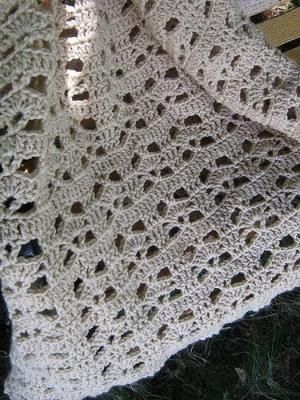 crochet afghan by PatLeB