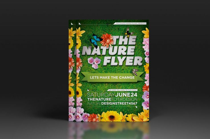 The Nature Flyer or Poster by luuqas on Envato Elements