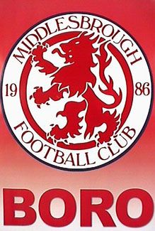 Middlesbrough FC OFFICIAL CREST Logo Poster ~available at www.sportsposterewarehouse.com