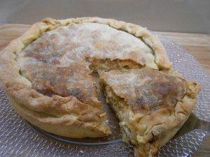 Πίτα με μανιτάρια και φέτα