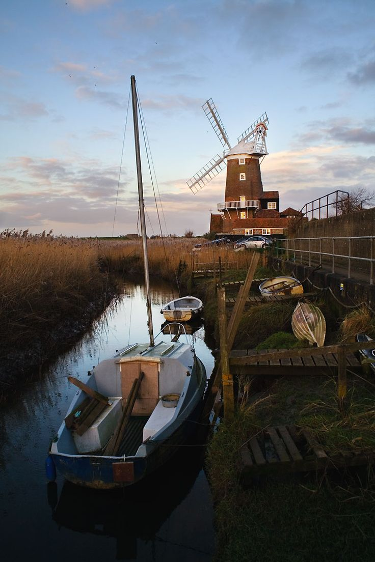 Cley Mill, Cley-next-the-Sea,Norfolk, UK  (Lived here for a time)