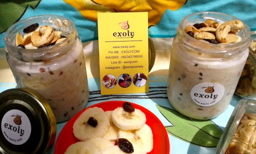 Overnight Oatmeals Pisang Sarapan Sehat