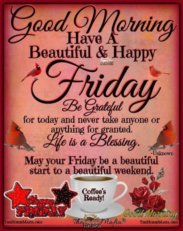 50 Friday Images, Greetings, Wishes And Quotes | Good ...