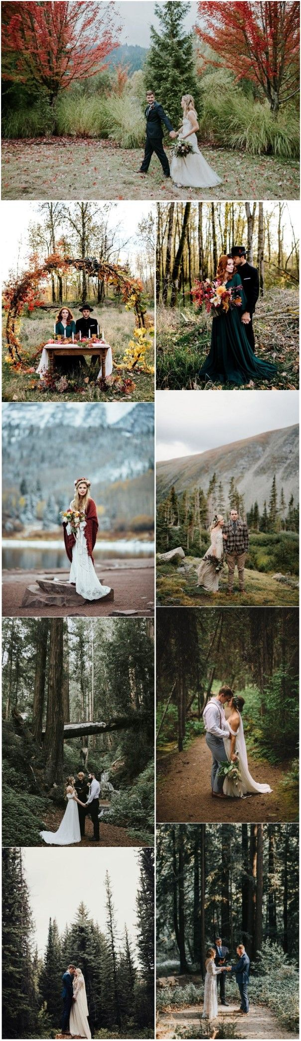 Fall Weddings »    Let's elope–27 Intimate Autumn Elopement Inspirations for Your Big Day » ❤️ More:    http://www.weddinginclude.com/2017/09/lets-elope-intimate-autumn-elopement-inspirations-for-your-big-day/