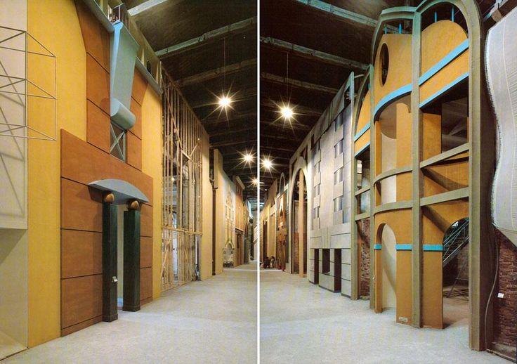 1980 Biennale de Venise= juxtaposition des styles architecturaux pour affirmer le post modernisme