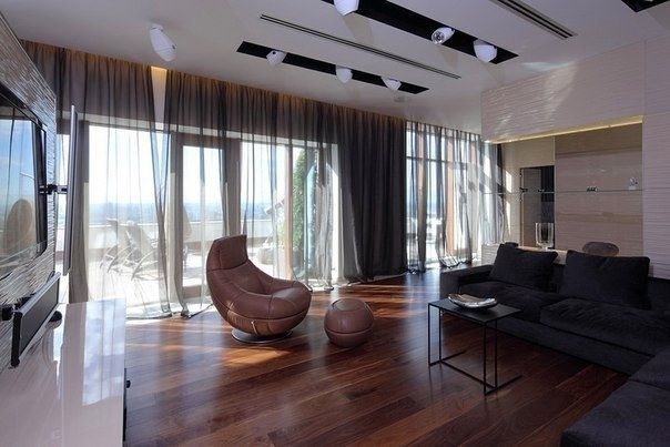 Пентхаус площадью 145 кв.м. в Москве - Дизайн интерьеров | Идеи вашего дома | Lodgers