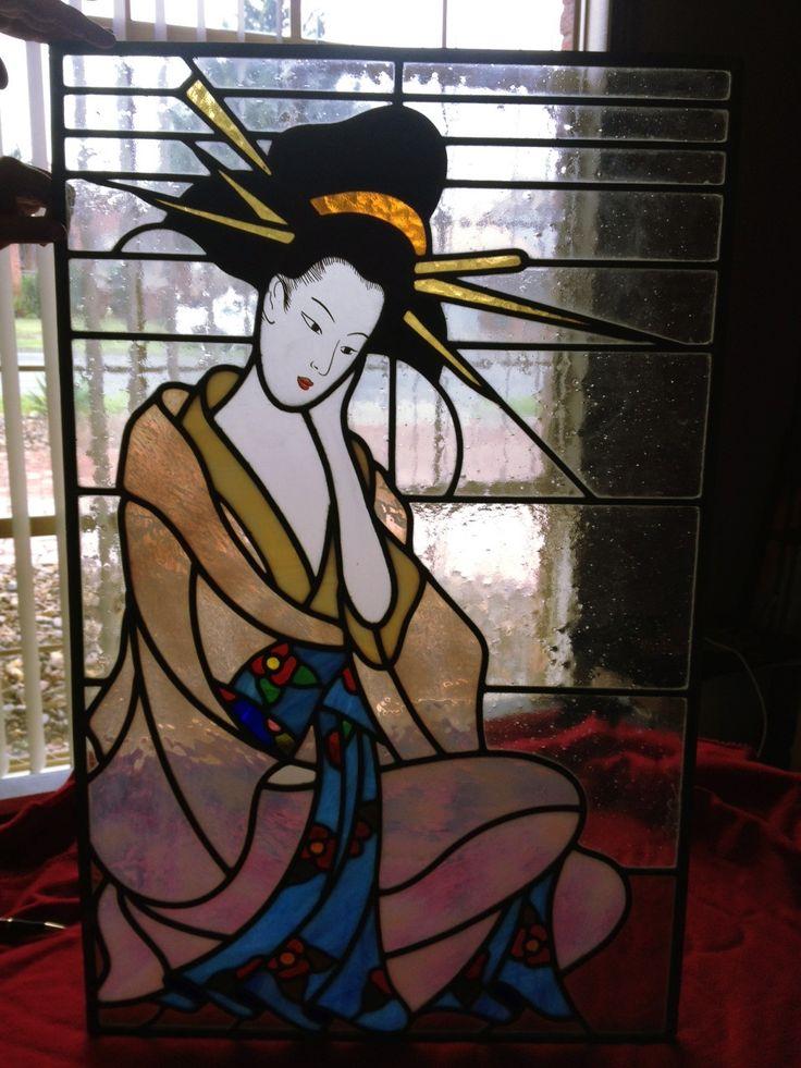 картинки для витраж японские правильные