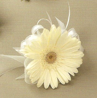 Gerbera Daisy Corsage - Corsages for Weddings