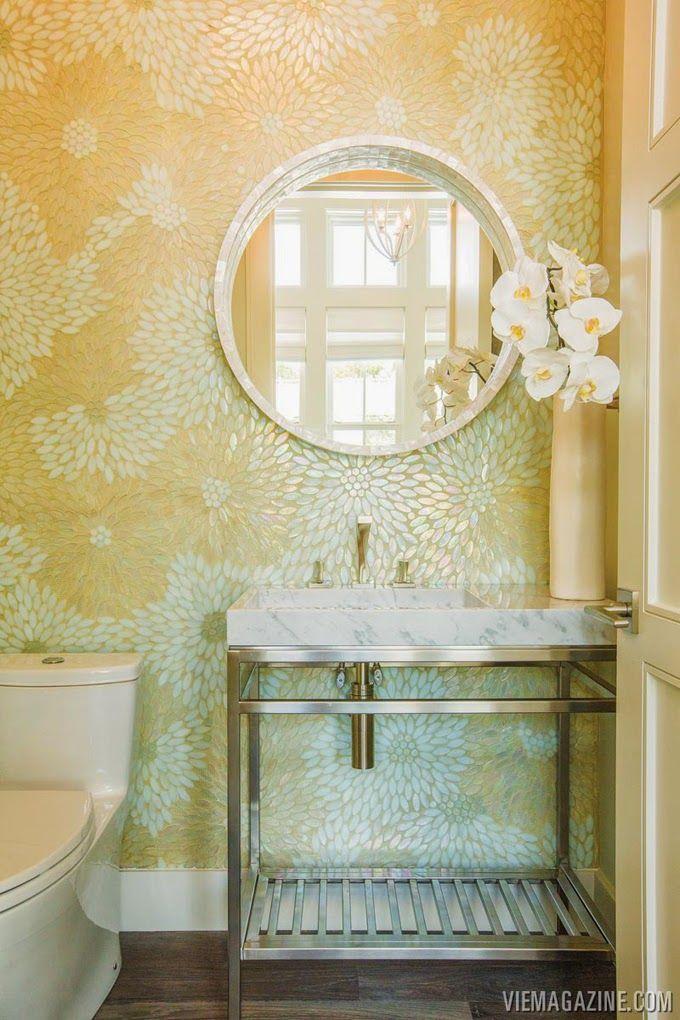 138 best Powder Room images on Pinterest | Bathroom, Restroom ...