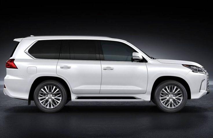 2017 Lexus LX 570 White