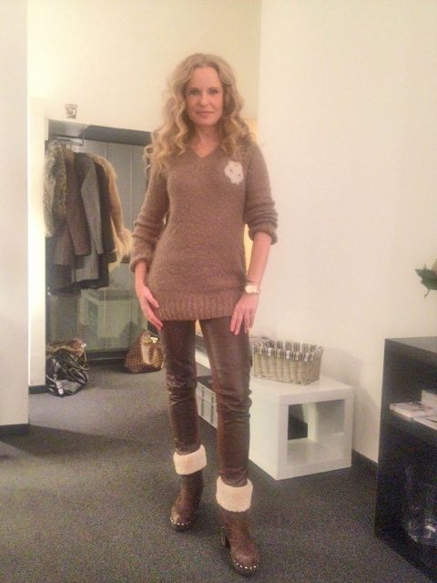 Moderatorin Katja Burkard In Softclox Stars In Softclox