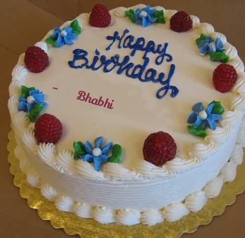 Happy Birthday Bhabhi Cake Images Cakes Design For
