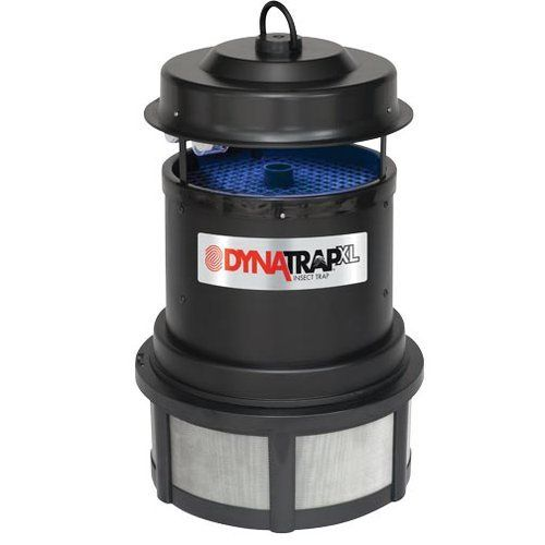 Dynatrap DT2000 Insect Trap - 13 x 22 Inches, 1 Acre Coverage > Offers 3-way protection against mosquitoes, moths, flies, gnats, no-see-ums, horse/deer flies, beetles, yellow jackets and many other insects UV fluorescent bulbs produce warm light to attract insects to the DYNATRAP An exclusive coating of titanium dioxide inside Dynatrap produces carbon dioxide, which is irresistible to mosquitoes