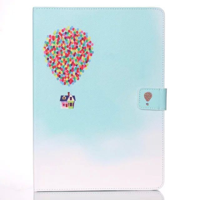 For Mini iPad Mini 4 Cover Case Smart Wallet Silicone Stand Case Girl Kids Gift Protect Cover w/Screen Protector Film+Stylus Pen