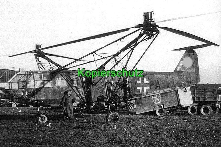 Hubschrauber der Luftwaffe R01755 in Sammeln & Seltenes, Militaria, 1918-1945 | eBay