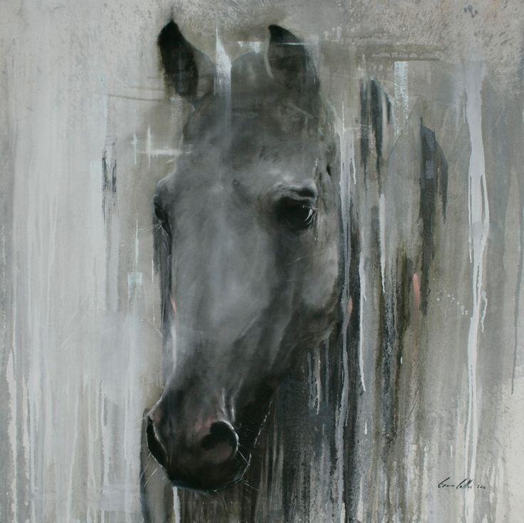 "Title: ""Unconditional Love"" Gavin Collins Paintings Size: 1,5m x 1,5m"