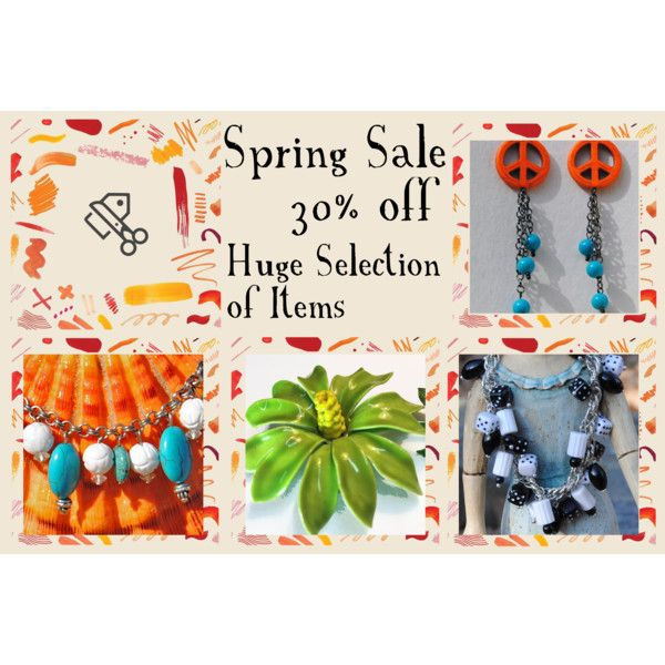 Spring Sale @ RescuedOfferings.etsy.com by rescuedofferings on Polyvore featuring vintage