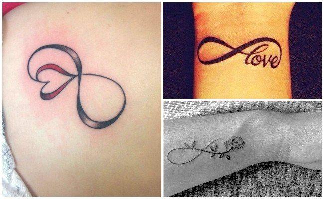Infinitos Tatuajes Blanco Y Negro Con Plumas