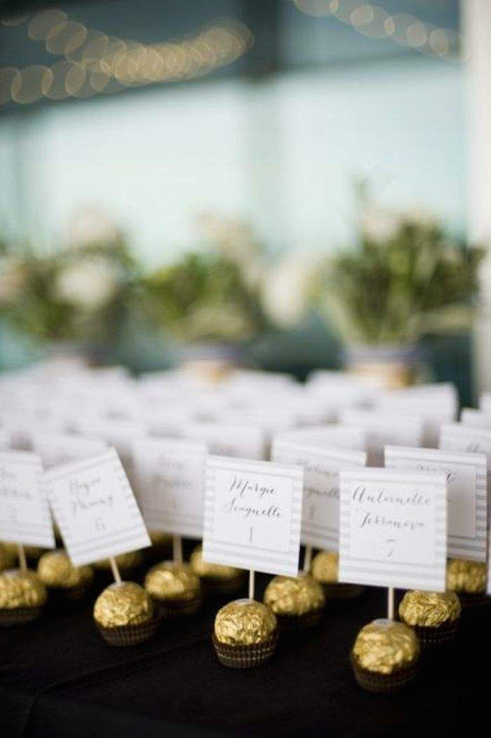 269 best wedding place card ideas images on pinterest Unique place card ideas