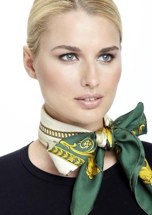 Hermès scarf bow