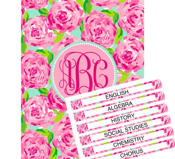 Personalized Monogram Lilly Pulitzer First By SweetFaceStudio