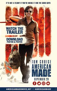 American Made 2017 Full Movie Torrent Download 720p. The film is based on an incredible true story, that of Barry Seal, a pilot hired by the CIA to eliminate the problem posed to the US by the famous Medellin cartel.