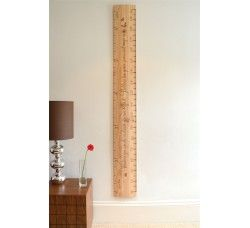 Cedar House Rule The Wooden Height Chart Co