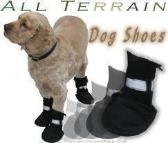 Boots+For+Dogs++•++Free+tutorial+with+pictures+on+how+to+make+pet+clothes+in+under+60+minutes