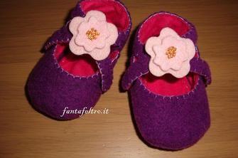 Come realizzare delle pantofole in feltro
