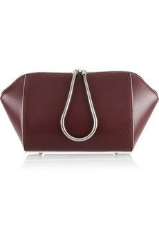 Alexander Wang Chastity large leather cosmetics case | THE OUTNET