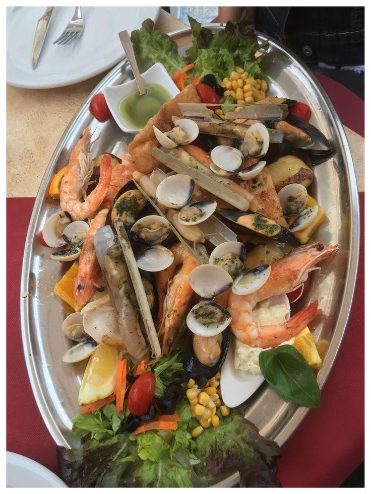 Seafood Platter @ Mama Rosa , Tenerife