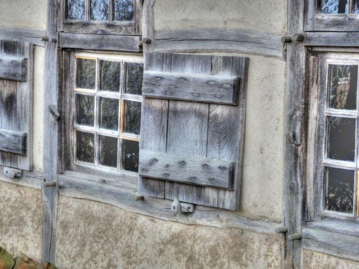 Farmhouse window. Nederlands Openluchtmuseum, Arnhem.
