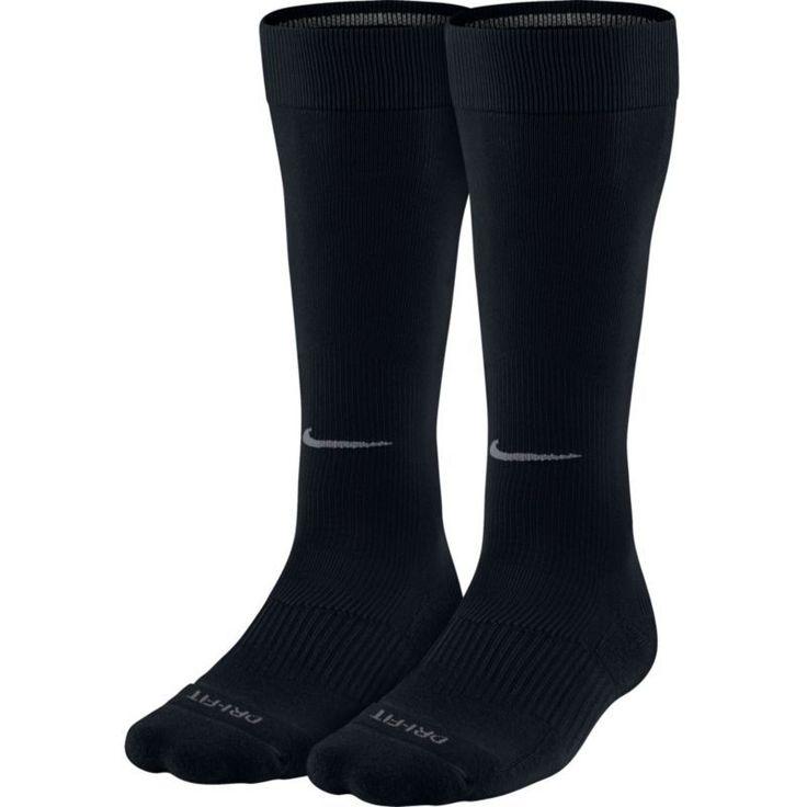Nike Over-the-Calf Baseball Socks 2 Pack, Size: Small, Black