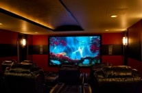 Beautiful home theater we did in Northville, MI