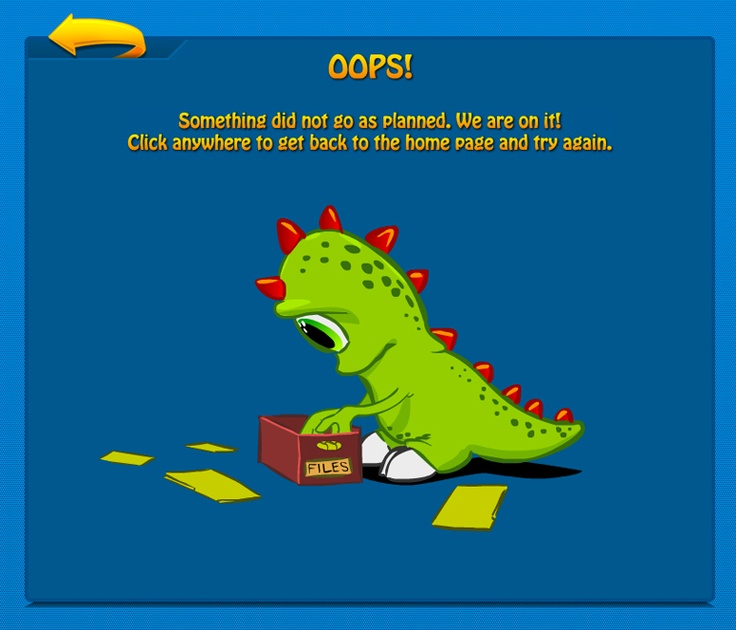 404 page of Kizi