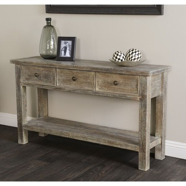 finest selection 6d840 8d1c9 Rockie Rustic Wood Console Table by Kosas Home | Home Decor ...